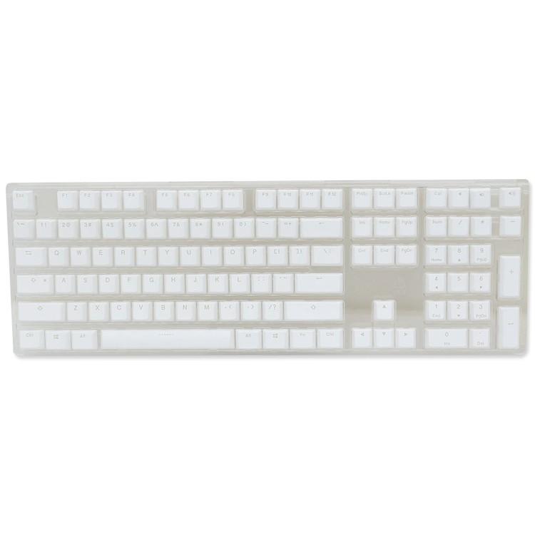 Ducky PBT Doubleshot 108-Key Keycap Set White