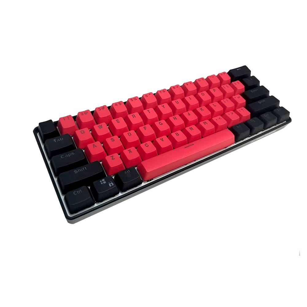 Kraken Keyboards BRED Keycap Set