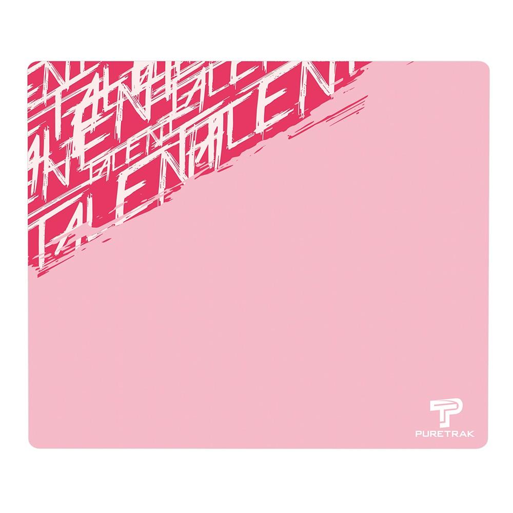 PureTrak gaming mousepads Talent Pink