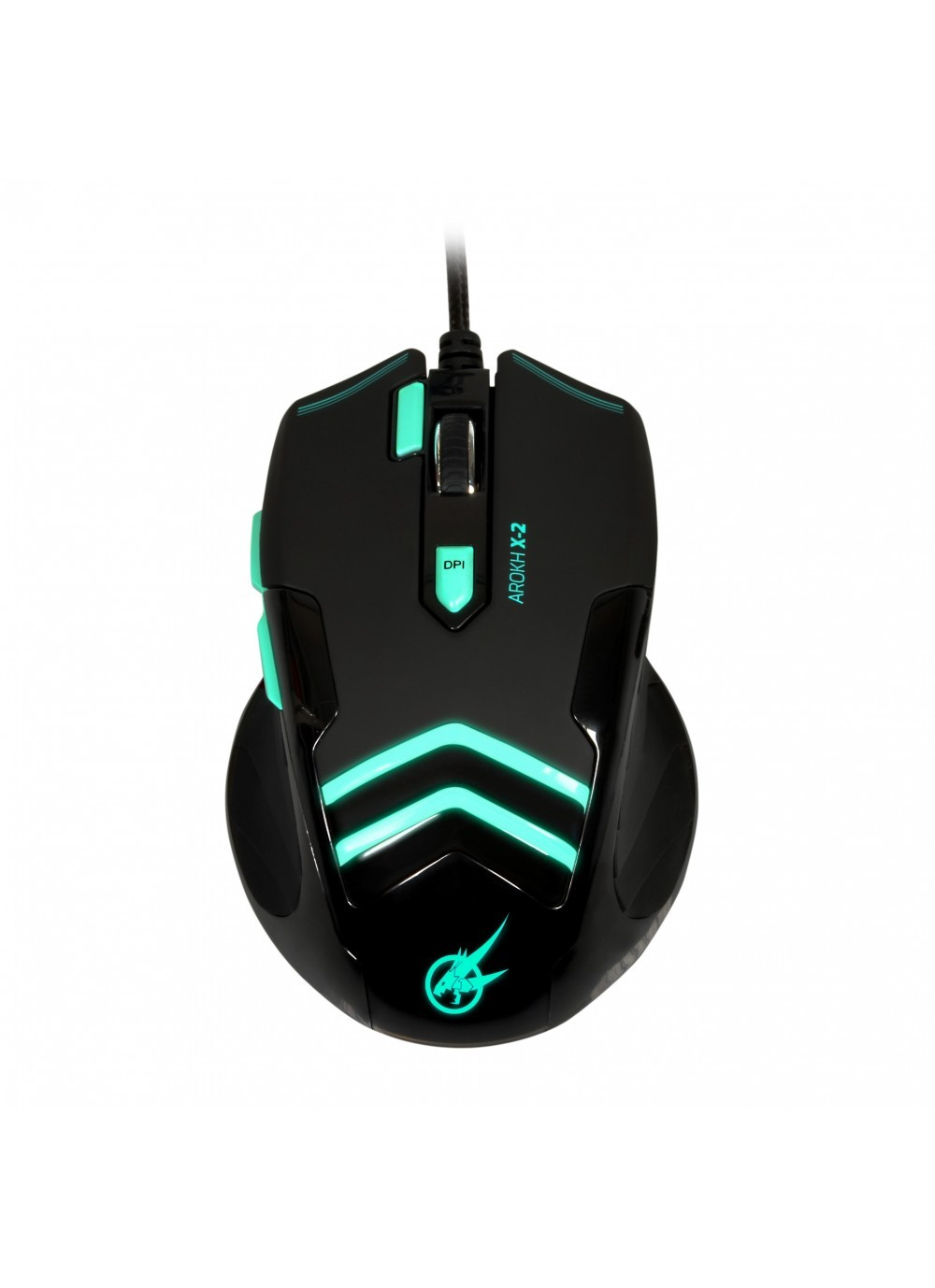 GAMING MOUSE AROKH X-2 - 7 BUTTONS 3500 DPI - GN