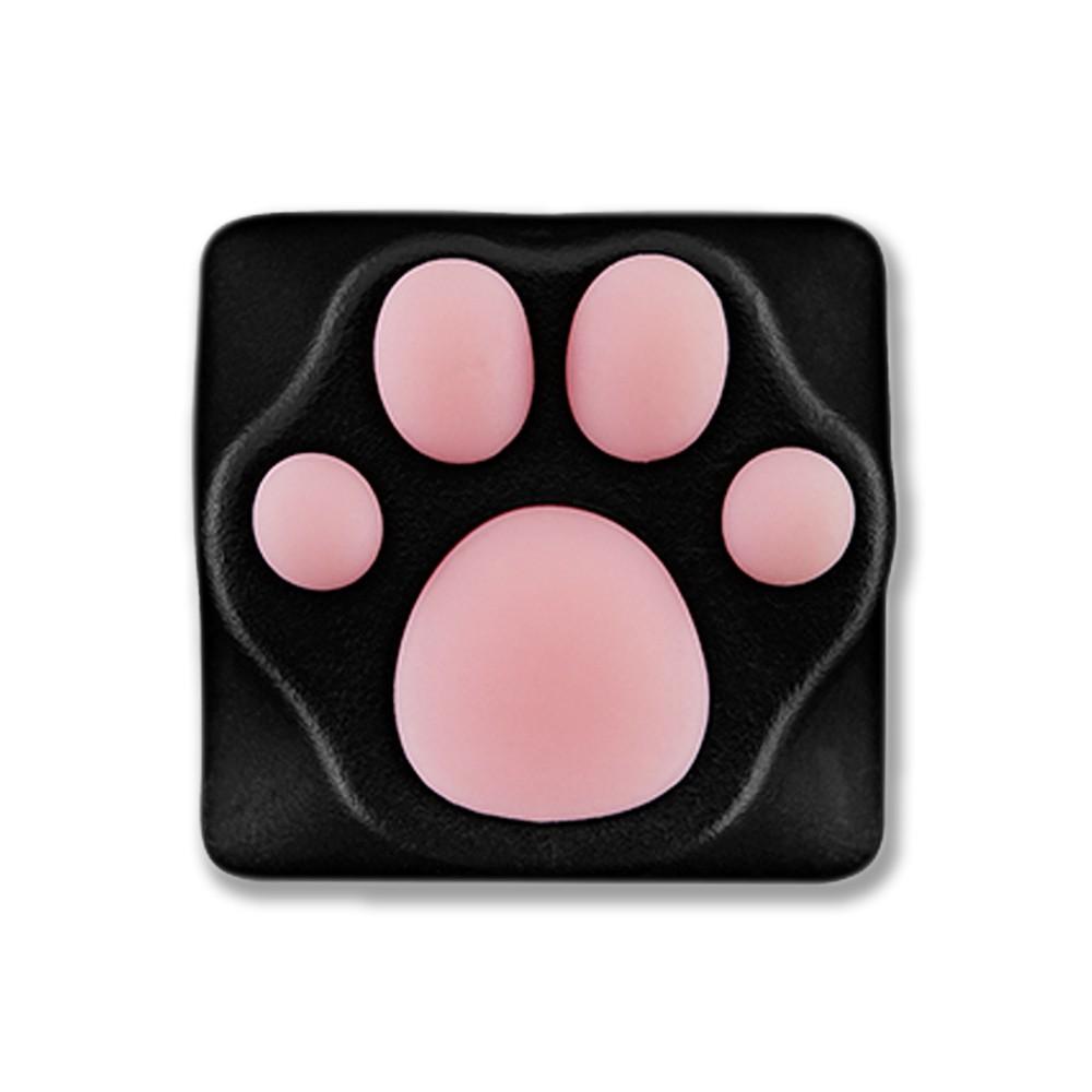Varmilo ZOMO Kitty Paw Black Pink Key Cap for Cherry MX Switches