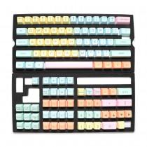 Ducky Cotton Candy keycap set