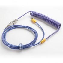Ducky Premicord Custom Coiled USB Cable Horizon