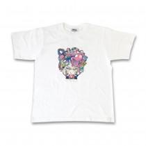 ふもコレ T-shirt 寺田てら White