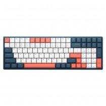 iQunix F96 Mechanical Keyboard Wired RGB Coral Sea