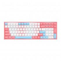iQunix F96 Mechanical Keyboard Wired RGB Peach