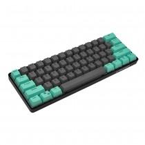 Kraken Keyboards Minty Steel Keycap Set
