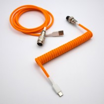 SwiftCables Artisan Custom Cable Double Orange