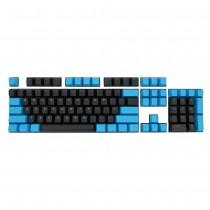 Tai-Hao Black / Blue PBT Double shot Backlit Keycap Set