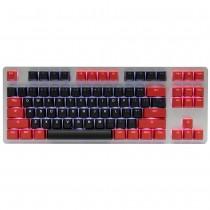 Tai-Hao Black / Red PBT Double shot Backlit keycap set