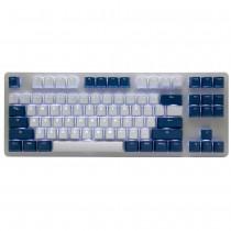 Tai-Hao Cool Gray / Navy blue PBT Double shot Backlit keycap set
