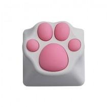 Varmilo ZOMO Kitty Paw White Pink Key Cap for Cherry MX Switches