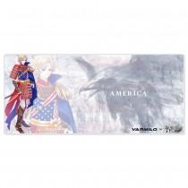 VARMILO×WORLDFLAGS Mousepad United States of America XL