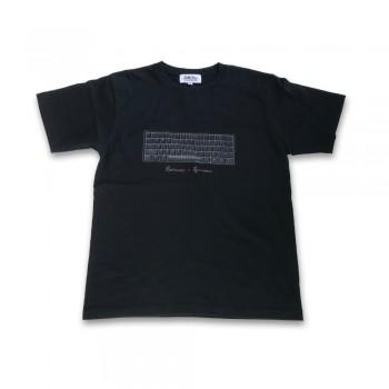 ふもコレ T-shirt Ducky Black