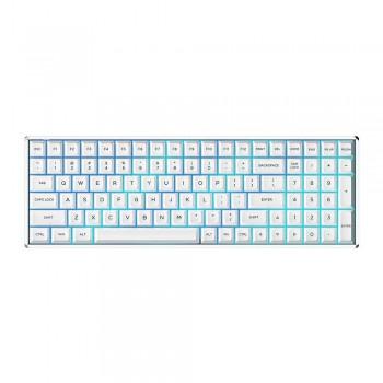 iQunix F96 KAT Mechanical Keyboard Wired RGB White