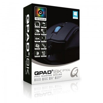 QPAD 8K Optical Pro Gaming Mouse