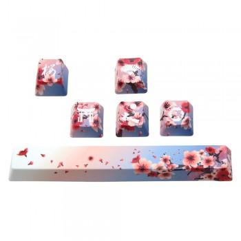 Traitors Sakura SHIRO Keycap Set