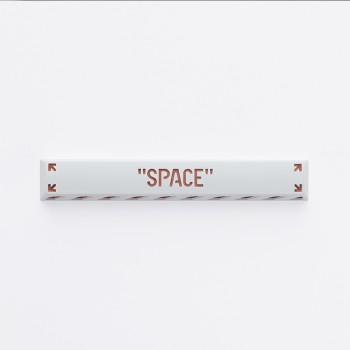 HolyOOPS x ZOMOPLUS CYBER PUNK Aluminum SPACE keycap White Orange
