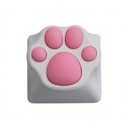 Varmilo(アミロ) × ZOMO(ゾモ) 猫の肉球キーキャップ 白ピンク