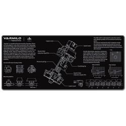 Varmilo(アミロ) ECメカニカルスイッチ マウスパッド XLサイズ 900mm*400mm*3mm