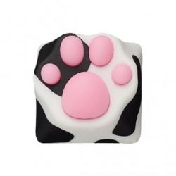 Varmilo(アミロ) × ZOMO(ゾモ) 猫の肉球 Cherry社製軸 キーキャップ 白黒