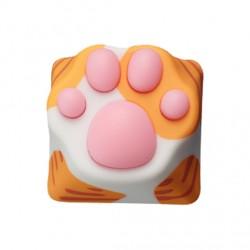 Varmilo(アミロ) × ZOMO(ゾモ) 猫の肉球 Cherry社製軸 キーキャップ オレンジ 茶トラ