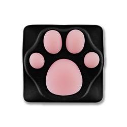 Varmilo(アミロ) × ZOMO(ゾモ) 猫の肉球キーキャップ 黒ピンク